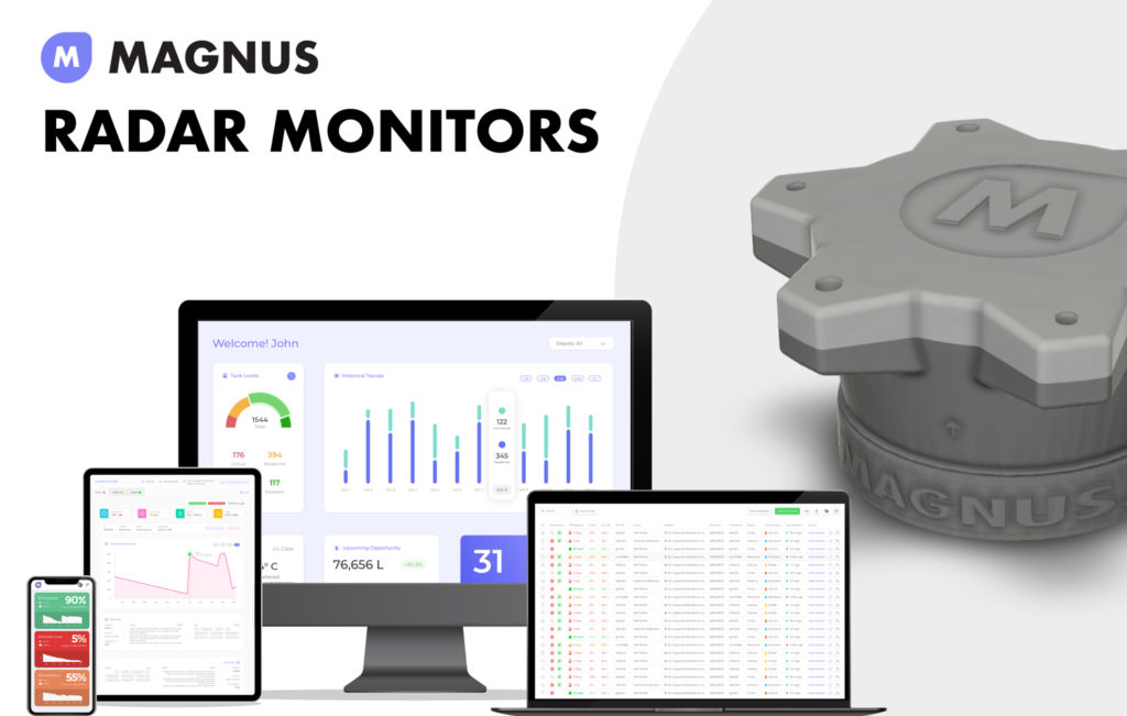 magnus radar fuel monitors